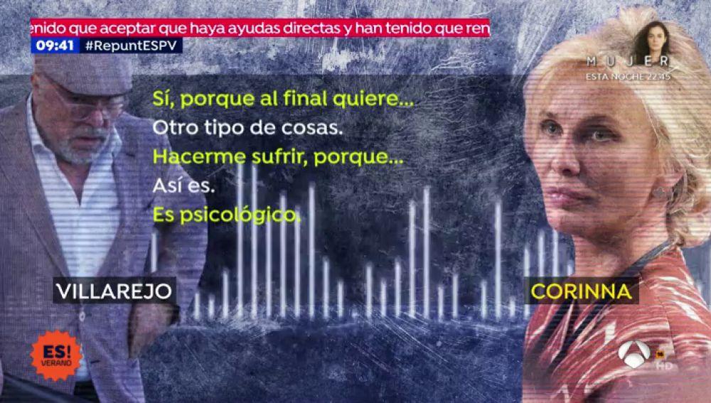audios Corinna Villarejo