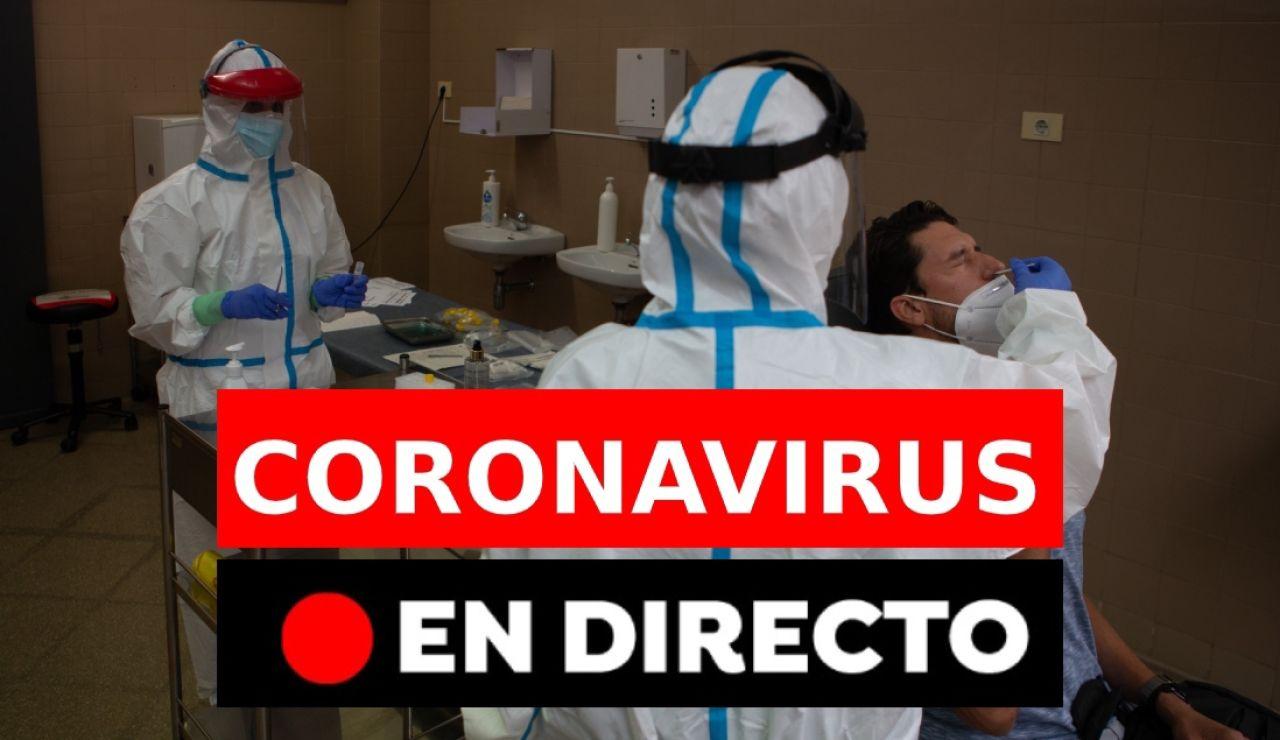 Coronavirus: Rebrotes en España y última hora, en directo