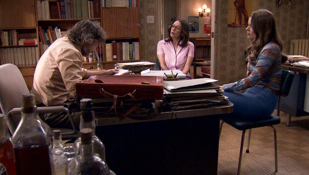 Lourdes pide ayuda a Guillermo y Cristina para que alguien lleve el juicio contra su padre