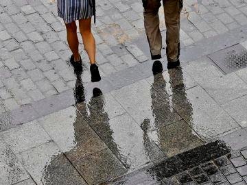 Una DANA deja fuerte lluvias en Madrid y provoca 2.000 rayos en una sola noche