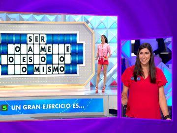 El gran fallo de Cristina que le hace perder 300€ en 'La ruleta de la suerte'
