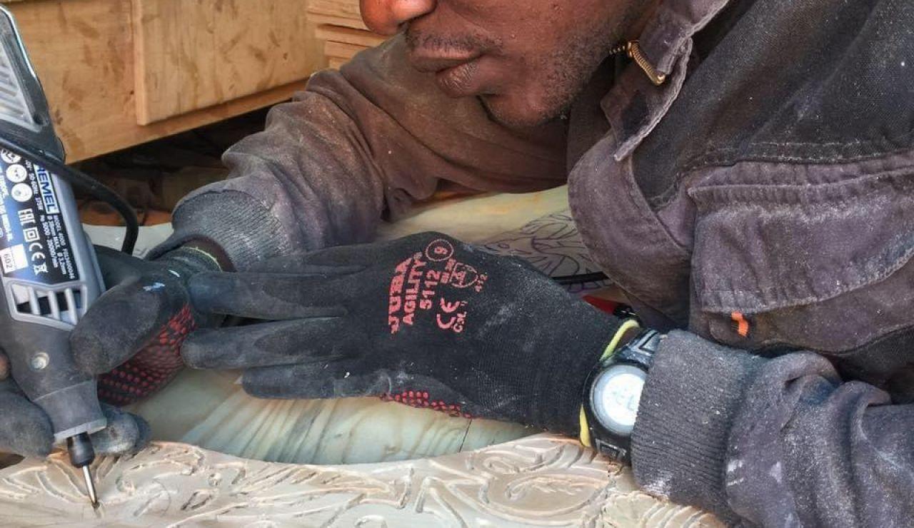 Amadou Sy, senegalés que denuncia que acusen a la comunidad senegalesa de contagiar el coronavirus