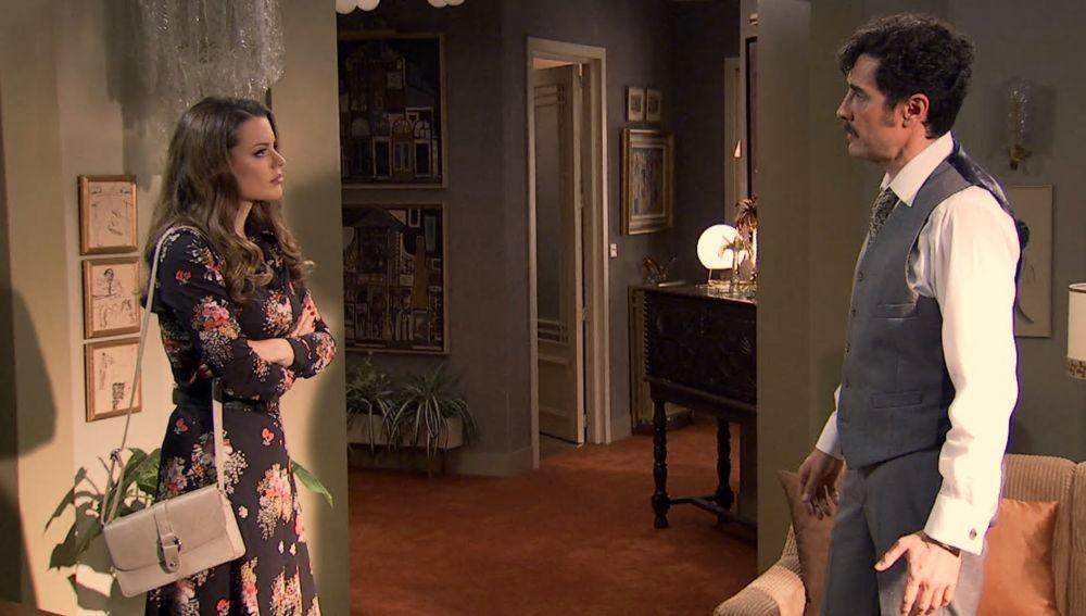 """Lourdes, contra su padre: """"Si de verdad nos quieres, no sé qué haces en esta casa donde nadie quiere que estés"""""""