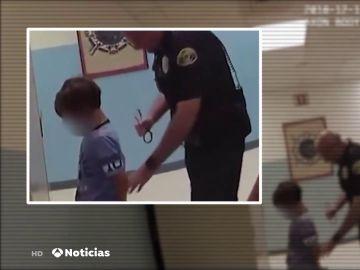 Indignación en Estados Unidos por la detención de un niño discapacitado de 8 años