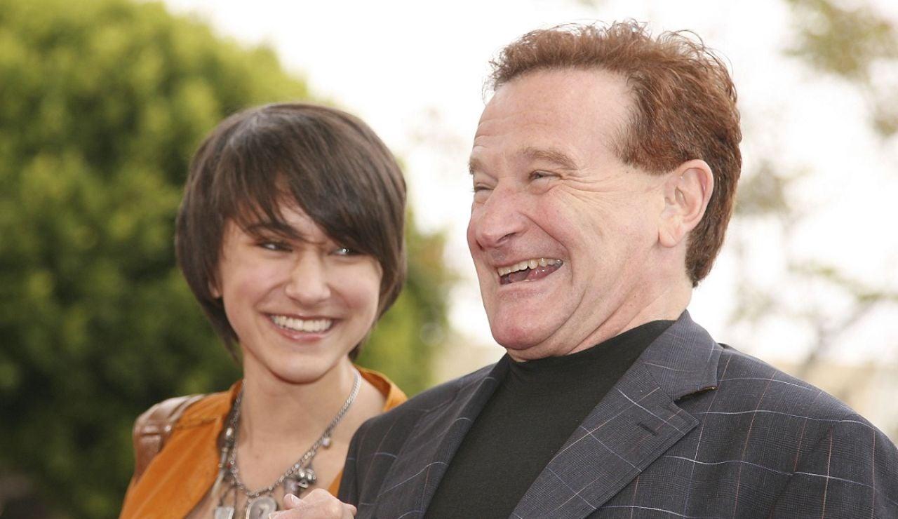 Robin Williams y su hija Zelda