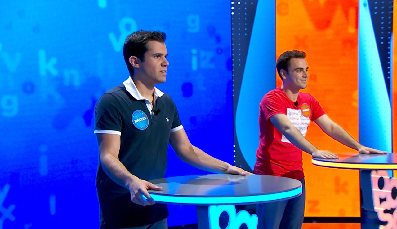 Un abalorio trunca la jugada de Pablo y le da la victoria a Nacho en 'El Rosco'