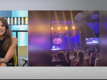 """Sandra García-Sanjuan, sobre el concierto de Taburete: """"El 98% del público llevaba la mascarilla puesta"""""""