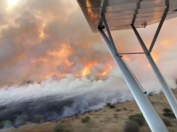 Un incendio arrasa la mayor reserva natural de Kenia