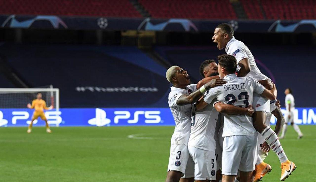 1-2. El PSG se clasifica para semifinales tras remontar al Atalanta en el descuento