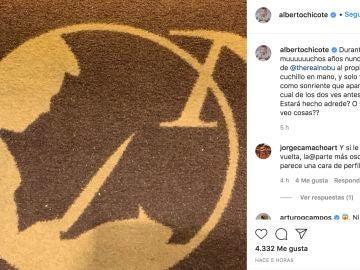 Instagram de @albertochicote