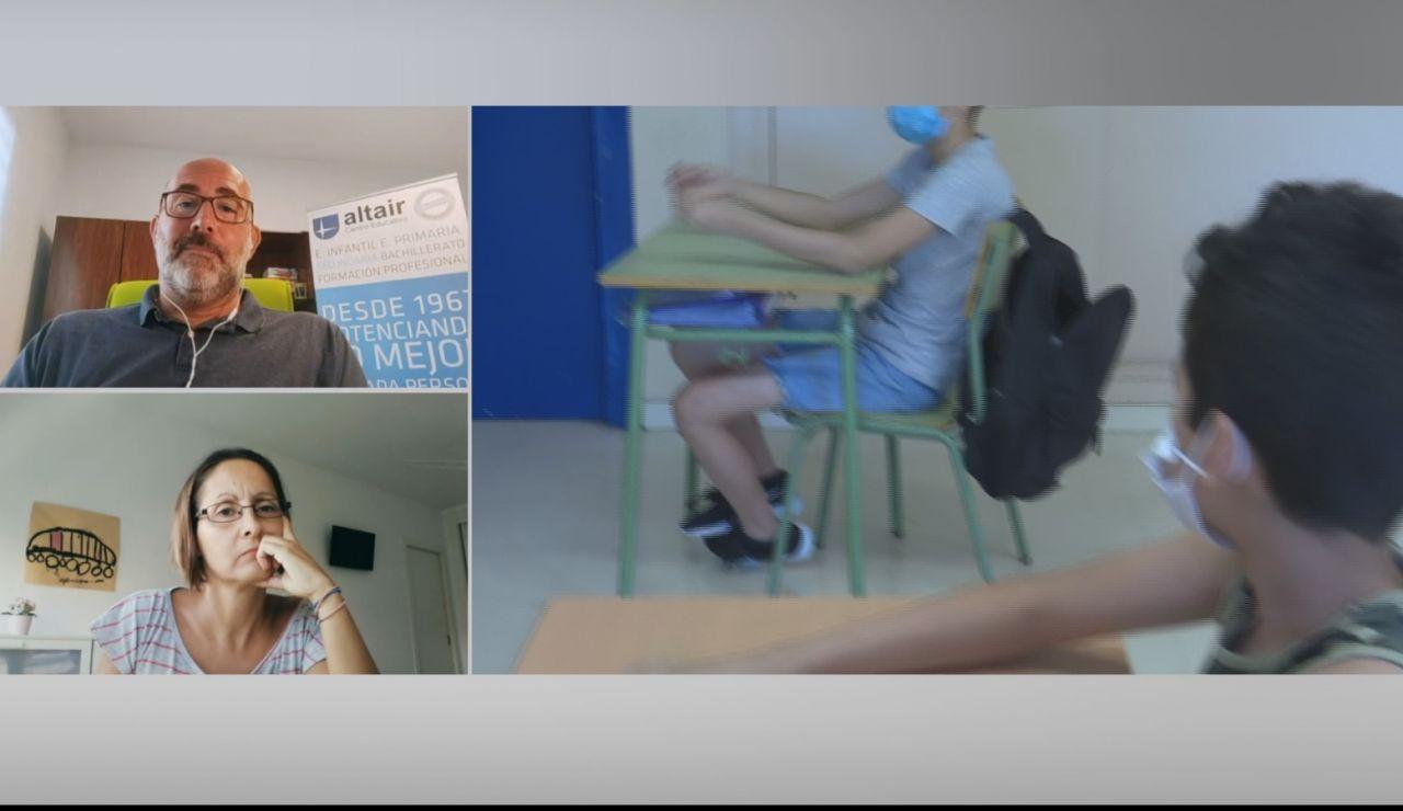 """Olga Amado: """"Las familias peleamos por la presencialidad en las aulas, pero el protocolo no es seguro"""""""