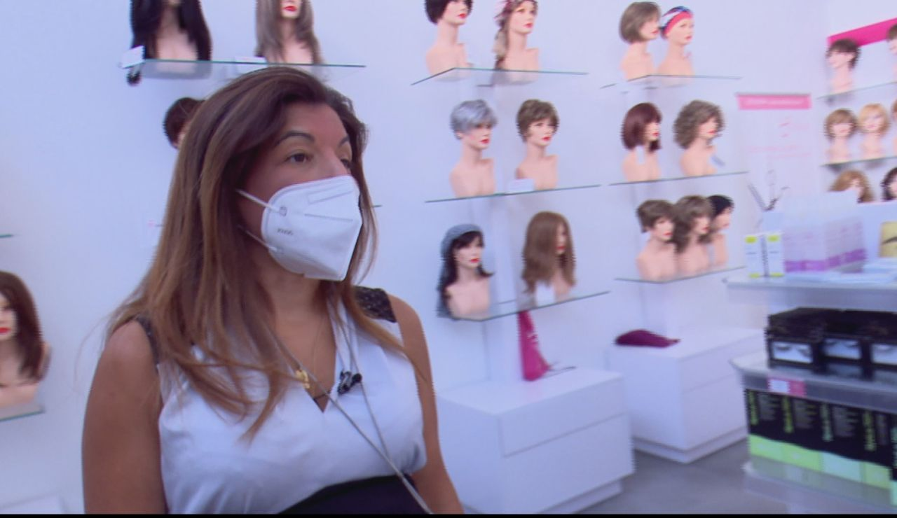 Se desploma la venta del pelo y aumenta las donaciones tras el estado de alarma por la pandemia del coronavirus