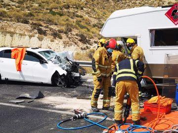 Accidente en EL Campello: tres muertos y dos personas heridas