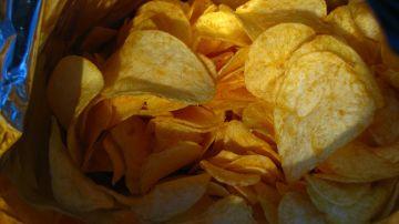 Patatas fritas chips
