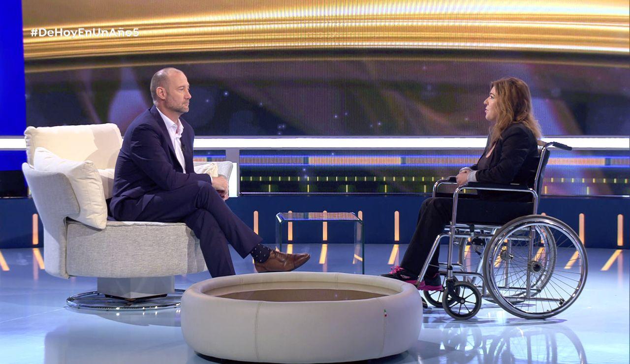 Mar culpa al alcohol de haber terminado en una silla de ruedas
