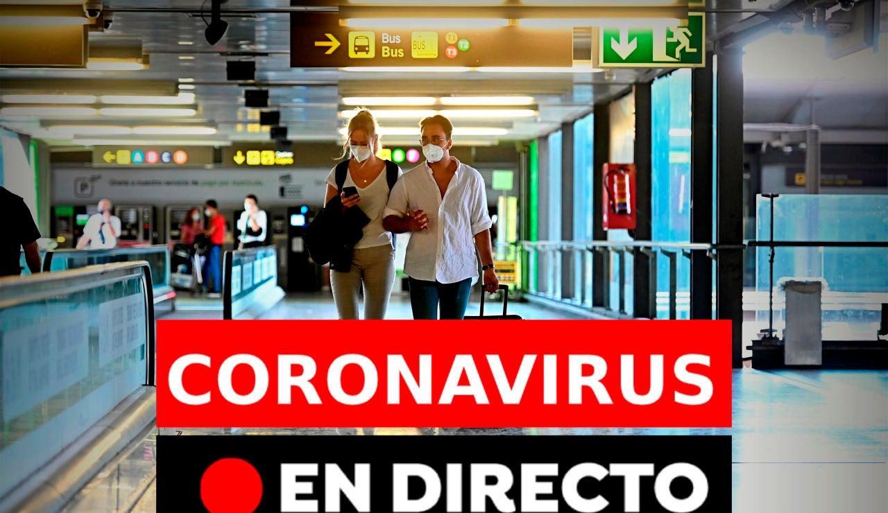Coronavirus en directo hoy: Última hora de los rebrotes, contagios y últimas noticias del miércoles, 12 de agosto, en directo