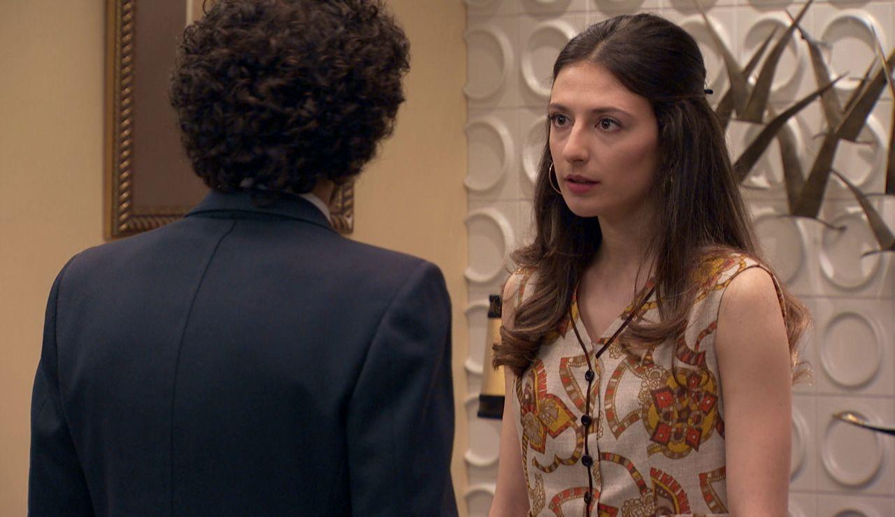 Marina se enfurece con Fede
