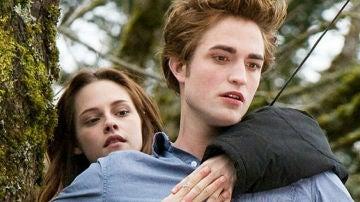 Edward Cullen y Bella Swan en 'Crepúculo'