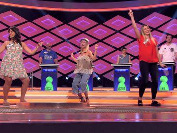 El baile de 'Las safaeras' que deja boquiabierto a Juanra Bonet