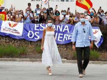 Los Reyes visitan Menorca