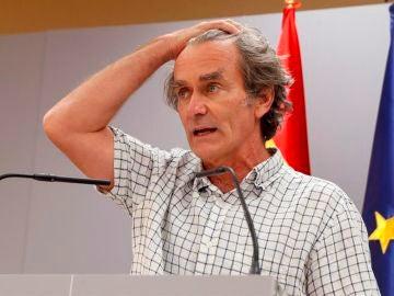 """Fernando Simón: """"España sigue subiendo en el número de casos, pero es una subida suave"""""""
