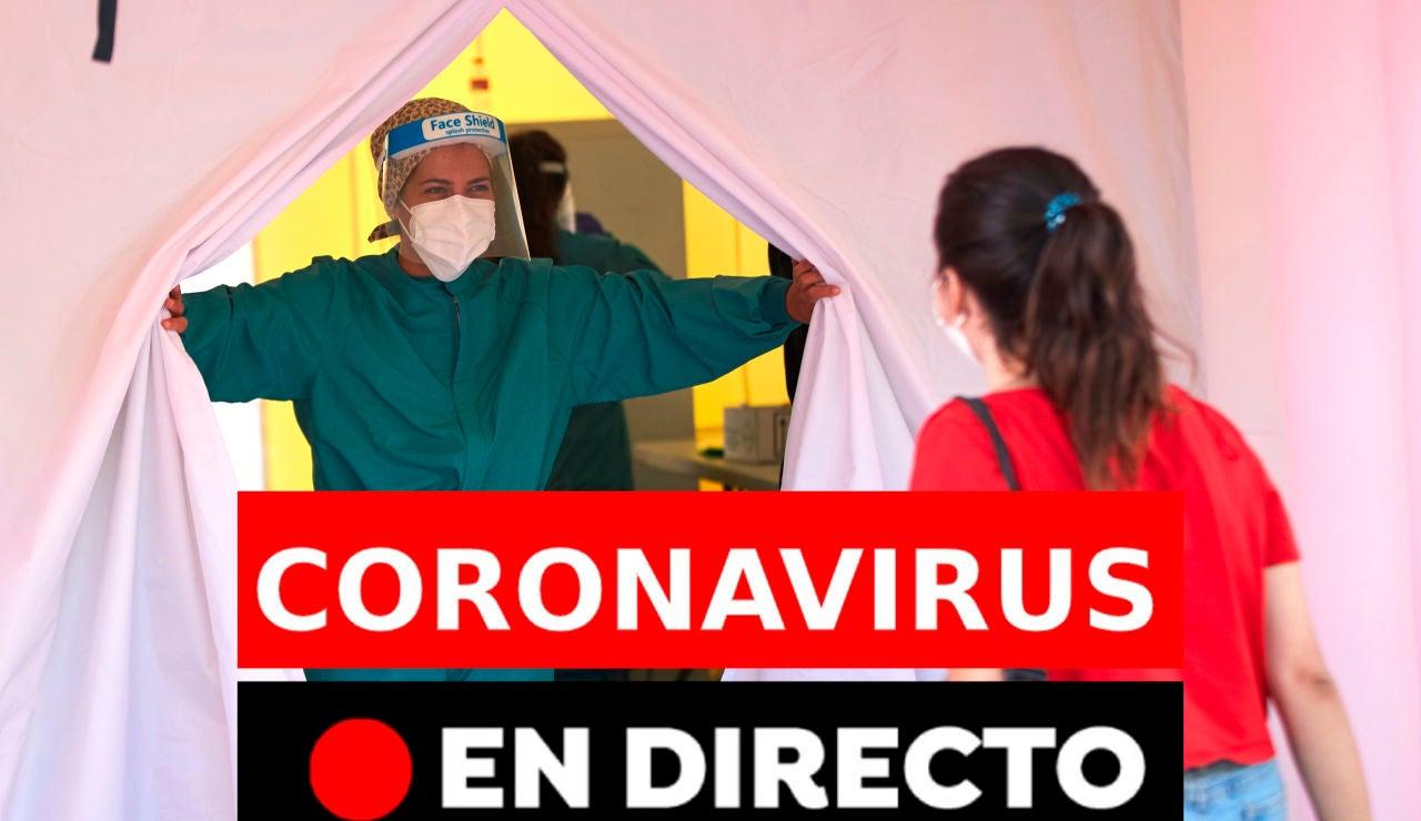 Coronavirus en directo hoy: Última hora de rebrotes, contagios y últimas noticias del jueves, 13 de agosto, en directo