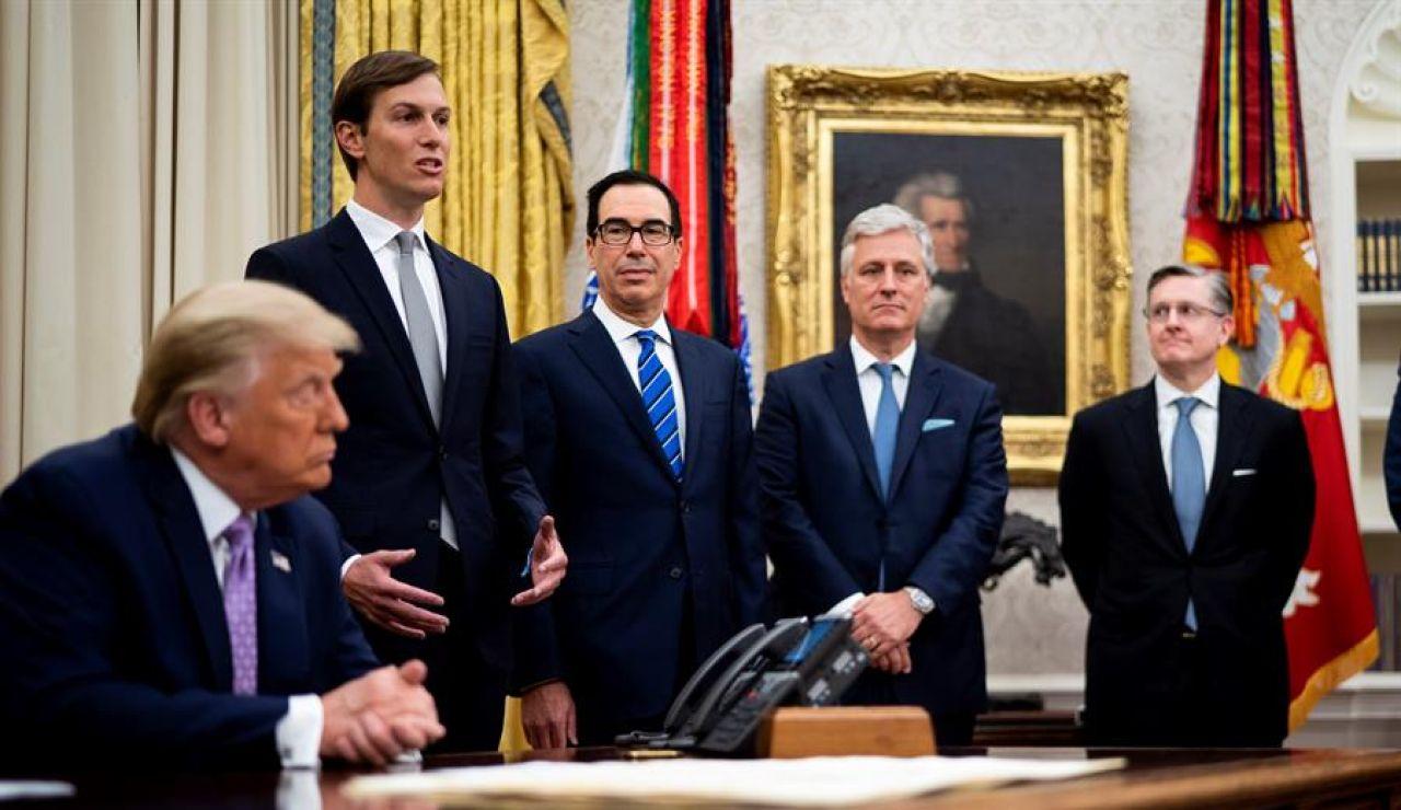 Acuerdo histórico de paz entre Israel y Emiratos Árabes Unidos con Trump de intermediario