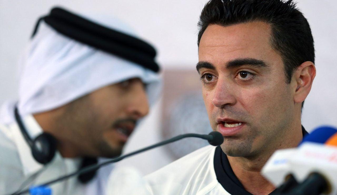 """Xavi: """"El fútbol es de los únicos trabajos donde se insulta al trabajador; es inadmisible que se insulte a un camarero"""""""