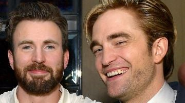 Robert Pattinson y Chris Evans