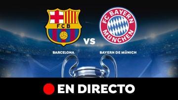 Barcelona - Bayern de Múnich: Partido de hoy de Champions League, en directo