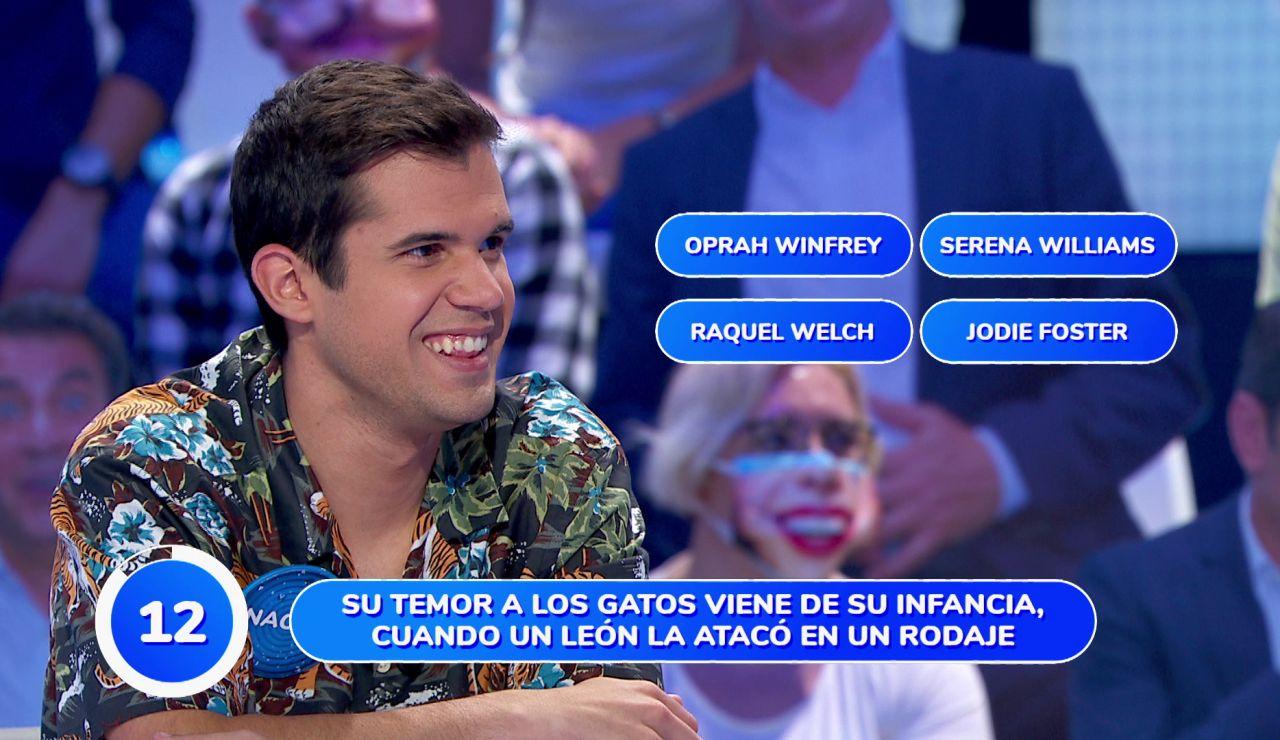 Nacho desvela un inesperado dato sobre Pablo Carbonell en mitad de una prueba en 'Pasapalabra'