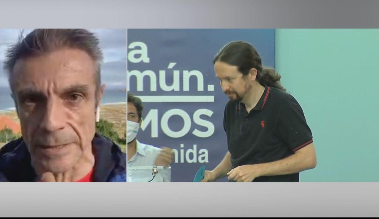 """Enrique Riobóo, exsocio de Pablo Iglesias: """"Unidas Podemos nace de la televisión iraní e Iglesias cobraba billetes de 500 euros"""""""
