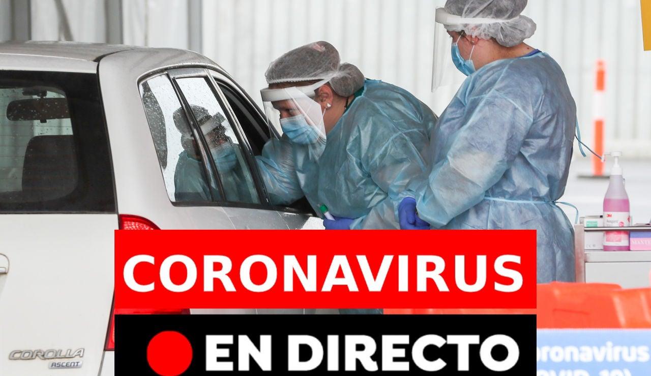Coronavirus en directo hoy: Última hora de rebrotes, contagios y últimas noticias del viernes 14 de agosto, en directo