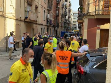 Tres personas mueren en un incendio en la Barceloneta