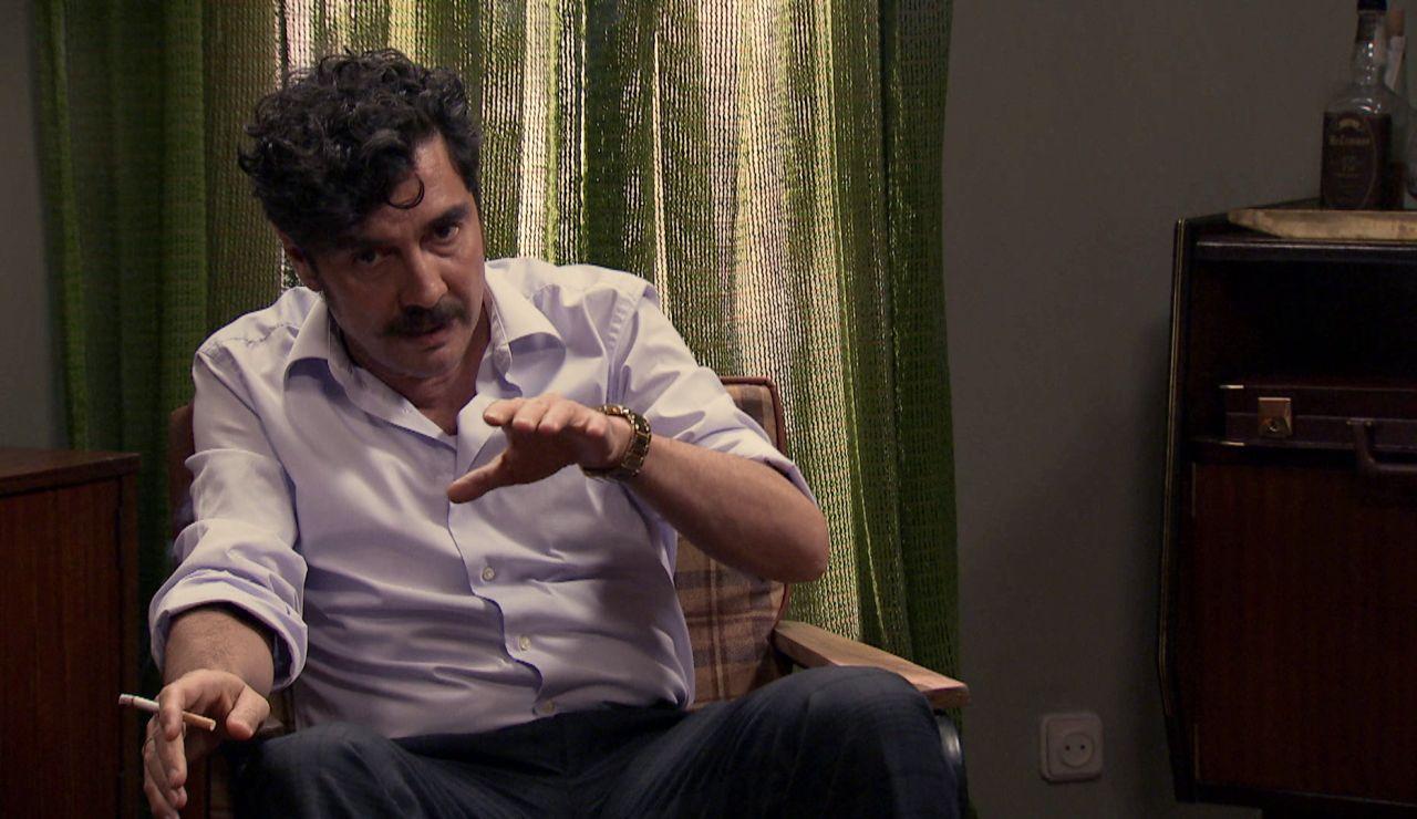 Armando le revela a  su hija la verdad sobre Miguel Portolés