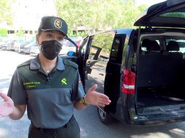 La Guardia Civil intercepta un cargamento de 525 kilos de hachís en el interior de un vehículo VTC