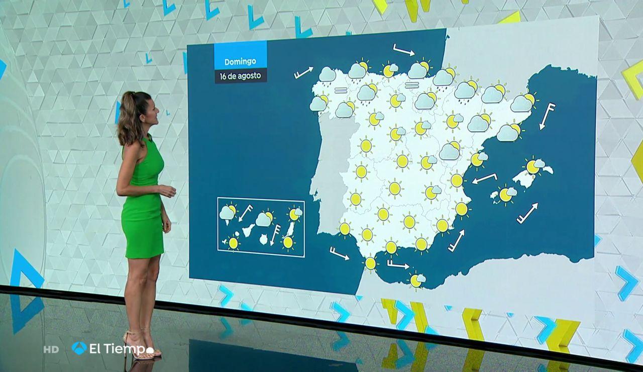 Tu Tiempo (15-08-20) Precipitaciones en el norte y descenso de las temperaturas