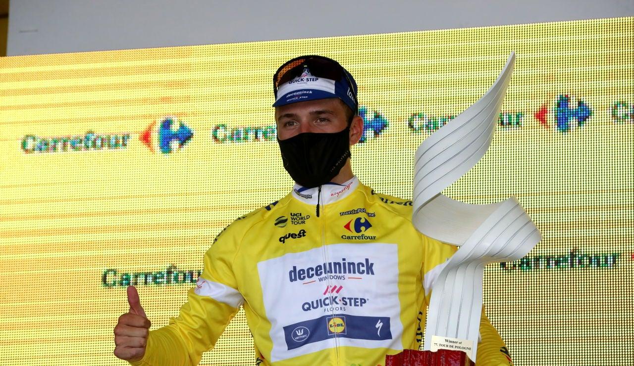 El ciclista Remco Evenepoel