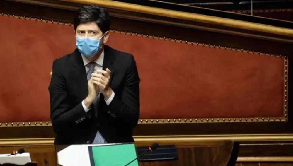 El ministro de Sanidad italiano, Roberto Speranza