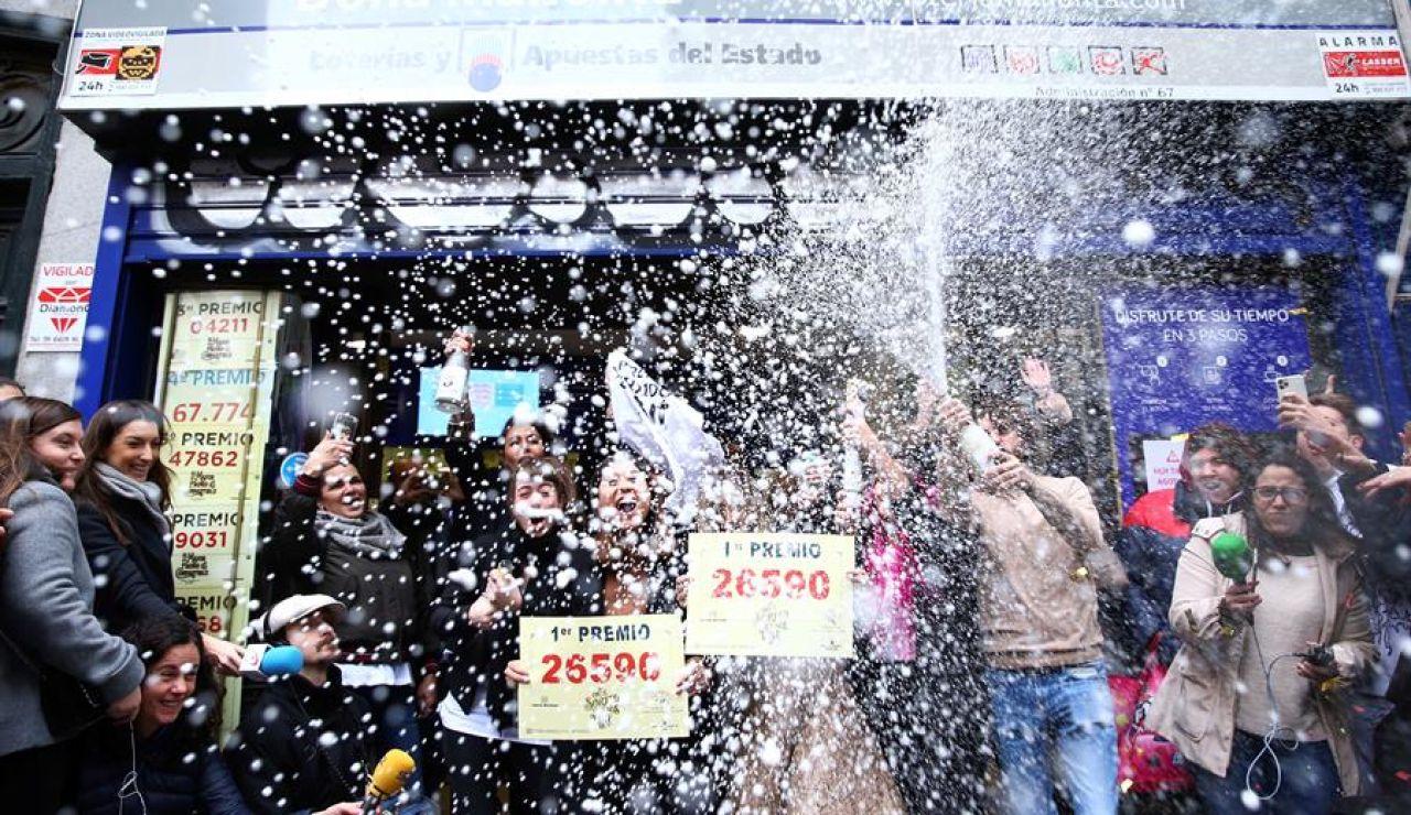 Comprar Lotería de Navidad en verano: Las administraciones más visitadas en las vacaciones de 2020