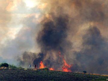 El incendio de Lober de Aliste