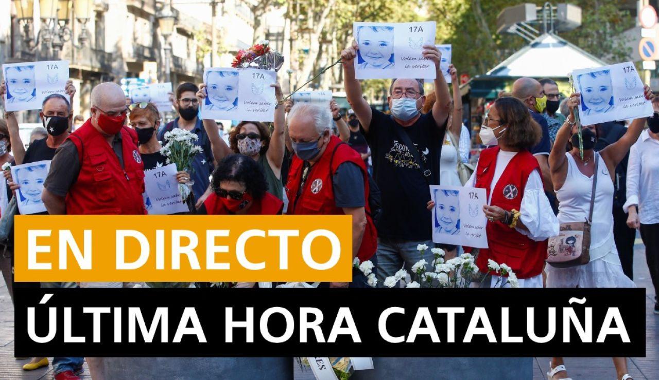 Coronavirus Cataluña: Última hora Cataluña hoy lunes 17 de agosto
