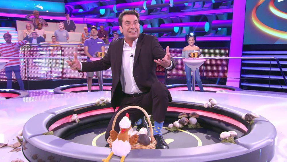 Sorprendente: Arturo Valls explica el ciclo de la vida versión '¡Ahora caigo!' a partir de los champiñones