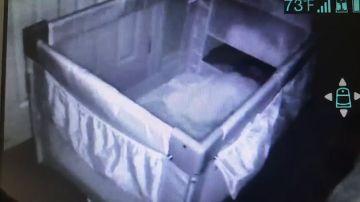 Una madre que sufrió un aborto ve al fantasma de un bebé moverse en su cuna