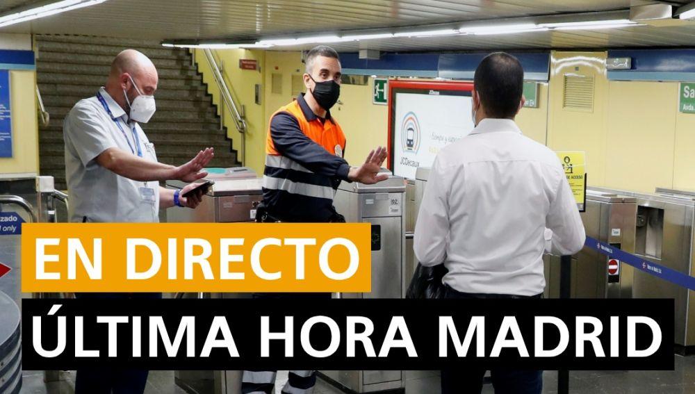 Coronavirus Madrid: Última hora Madrid hoy lunes 17 de agosto