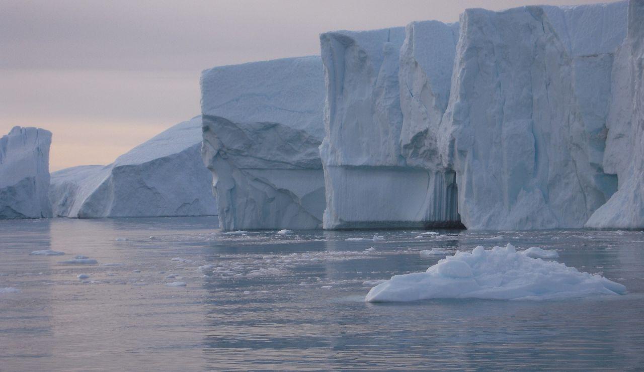 Imagen de archivo de un glaciar