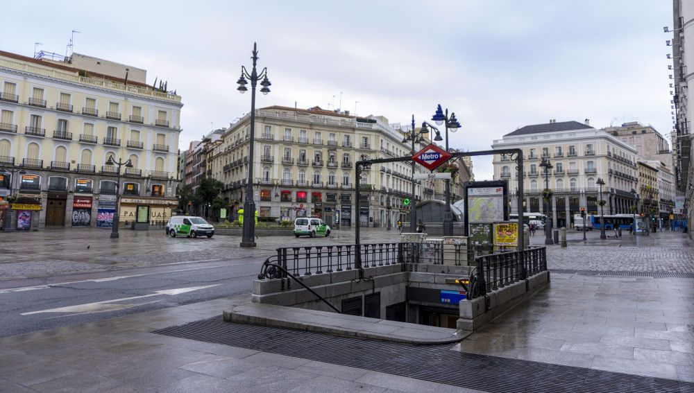 La Puerta del Sol de Madrid será peatonal a partir del próximo 20 de agosto