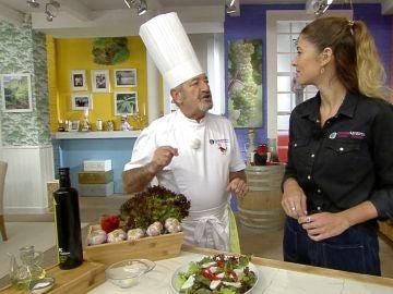 Lo que no sabes sobre el ajo picado: Karlos Arguiñano lo desvela