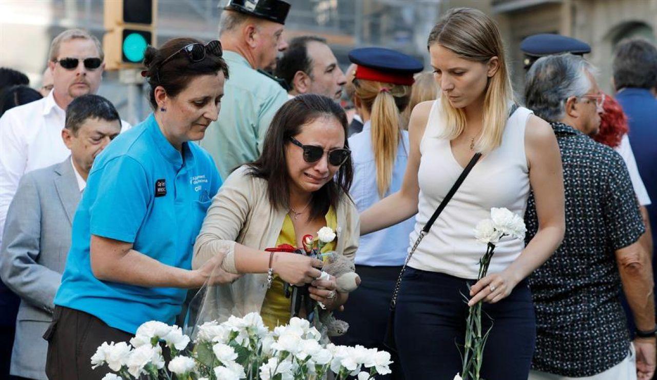 Tercer aniversario de los atentados de Barcelona