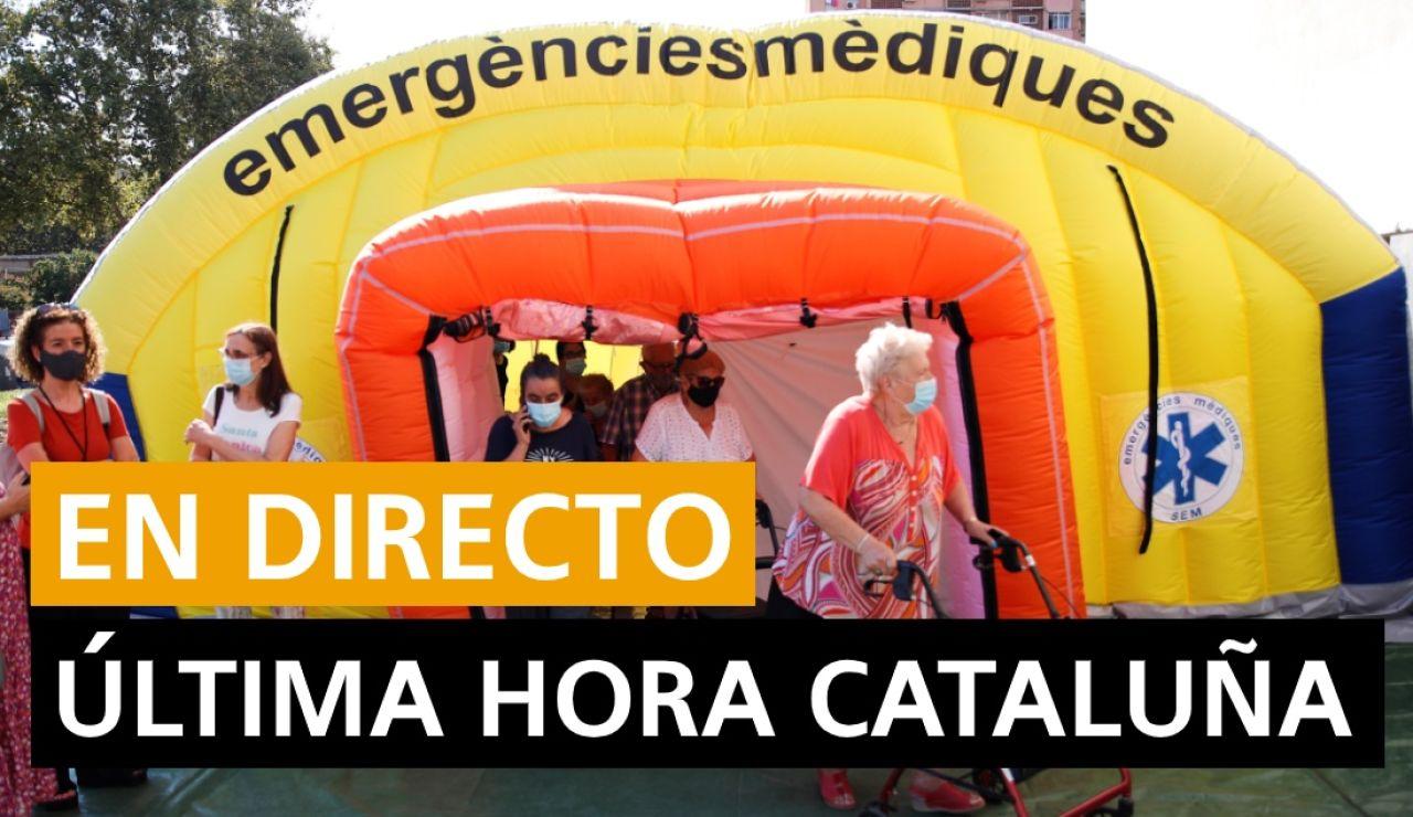 Última hora coronavirus en Cataluña